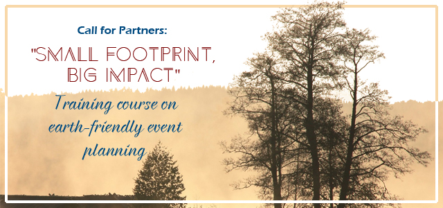 """Call for Partners: """"Small Footprint, Big Impact"""""""